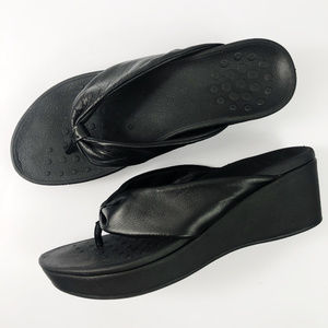 [VIONIC] Arabella Wedge Sandals Flip Flops